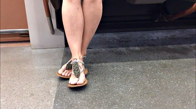 Candid, Sandals, Cam in