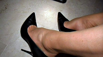 Office, Office foot, Nylon feet, Lingerie