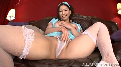 Milf handjob, Asian guy