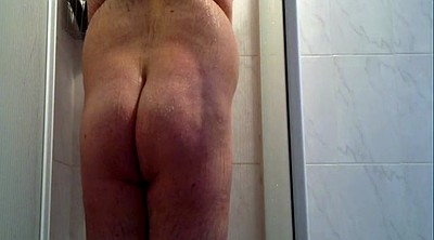 Shower, Fat guy, Big bbw
