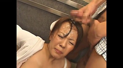Japanese nurse, Hitomi, Nurse, Japanese bukkake, Japanese gangbang, Big tits japanese