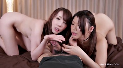 Japanese threesome, Big asian