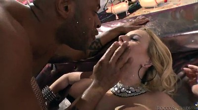 Angel, Pantyhose sex, Interracial anal