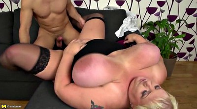 Young boy, Granny group, Mature fuck