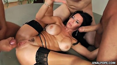Veronica avluv, Mature anal orgy, Anal orgy