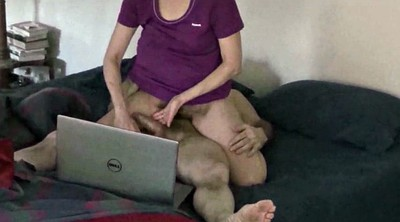 Hairy, Watching wife, Watching porn, Watching, Wife watch, Wife watching