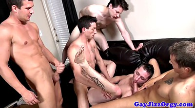 Muscled, Anal sex, Anal orgy
