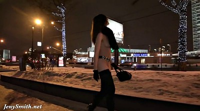 Jeny smith, Public flash, City, Public flashing, Flash in public
