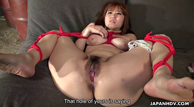 Tied tits, Japanese masturbation, Japanese big tits