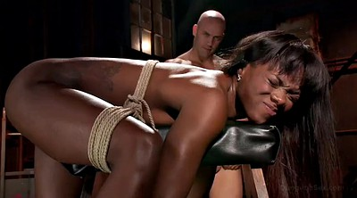 Interracial anal, Bondage anal, Submissed