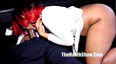 Bbc, Red, Thick cock, Public fuck, Thick booty, Big booty black