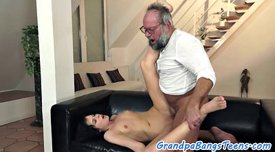 Old creampie, Old creampie young