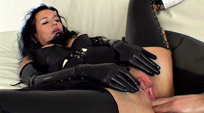 Latex, Abuse, Abused, Latex bondage, Mature bondage, Anal milf