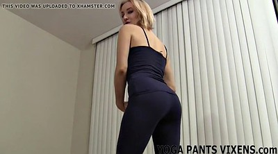 Fetish, Yoga pants, Shaved pussy, Pants