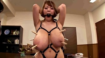 Asian, Torture, Hitomi, Tit torture