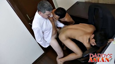 Office, Old daddy, Daddy gay, Asian daddy, Gay old, Old asian