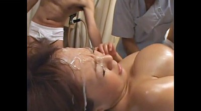 Massage, Japanese massage, Hitomi, Japanese big tits, Japanese bukkake, Massage japanese