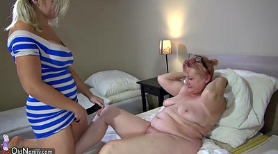 Step mom, Hot mom, Old lesbian, Strap on, Lesbian mom, Strapon mom
