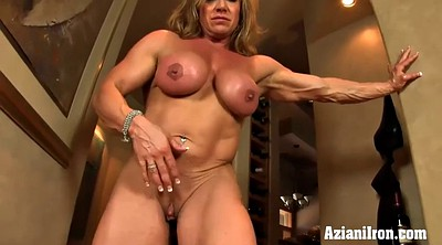 Big clit, Muscle girl, Big clits