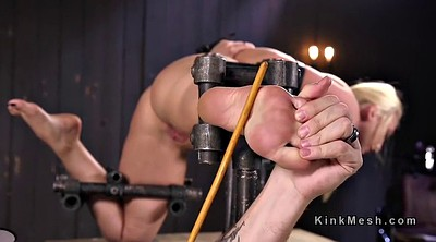 Caning, Natural, Feet bdsm, Caned