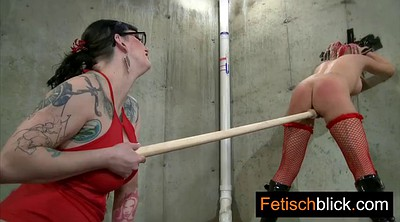 Teen, Bondage, Latex anal, Bdsm german