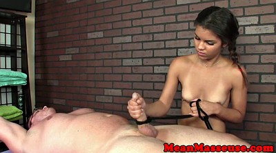 Massage, Tied handjob