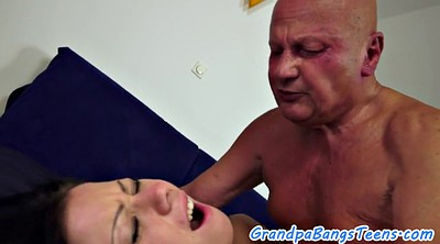 Young creampie, Old man