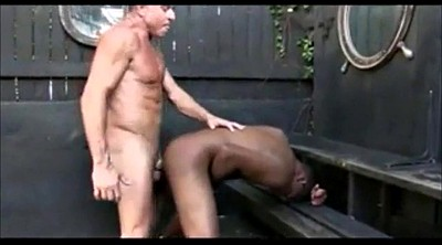 Old man, Old and young gay, Old man gay, Young ebony, Young handjob, Outdoor old man