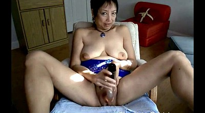 Asian, Asian granny, Asian dildo, Granny asian