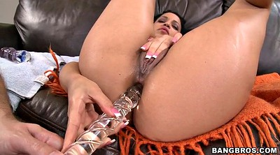 Huge dildo, Glass, Huge dildo anal