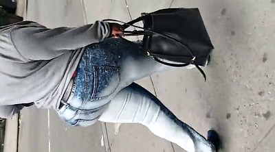 Jeans, African, Jeans milf, Black booty