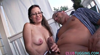 Outdoor mature, Jerk off