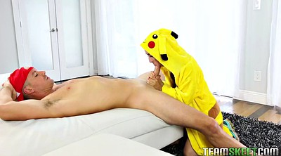 Small, Pokemon, Freya, Blowjob facial