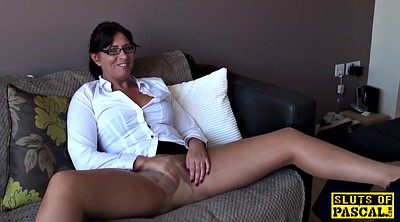 Bdsm, Mature pantyhose