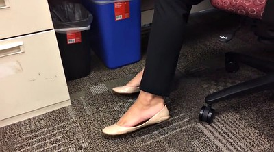 French, Office foot, White foot, She, Flats