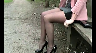 Office foot, High heels, Footing, Climax