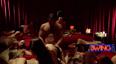 Group sex orgy, Swinger