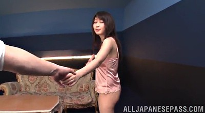 High heeled, Big tits solo, Asian model