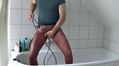 Pantyhose nylon, Gay pantyhose, Take a shower, Nylon fetish, Females, Female
