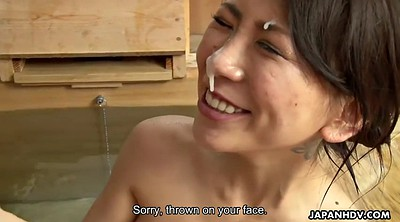 Japanese milf, Japanese shower, Asuka