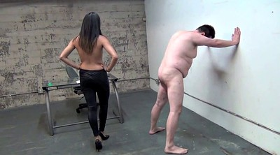 Asian femdom, Cruel, Ball, Asian woman