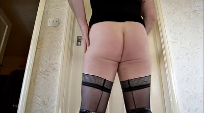 Boots, Stockings solo, Solo pantyhose, Crossdressers, Solo stockings, Solo ass show