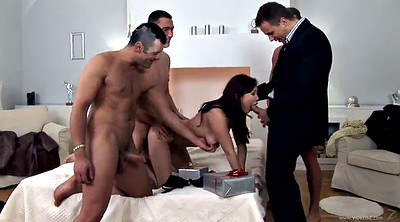 Asian gangbang, Asian double, Asians