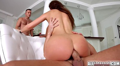 Group creampie, Anal creampie