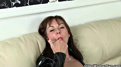 Eva, British mature, Pvc