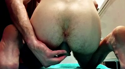 Fisting, Huge toy, Gape, Anus masturbation, Gay fist, Dildo fist