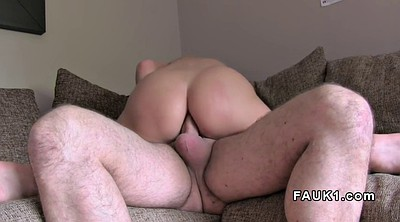Blonde anal, Couch, Anal casting