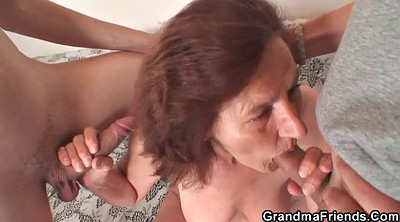 Young wife, Wife two, Mature granny