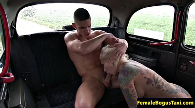 Female taxi, Throated, Backseat