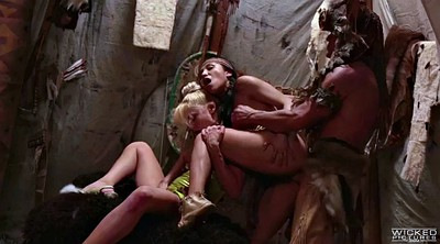 Hairy, Indian threesome, Riley steele, Vicki chase, Indian sex, Steel